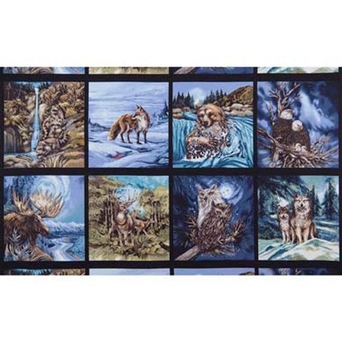 RK North American Wildlife Panel 6
