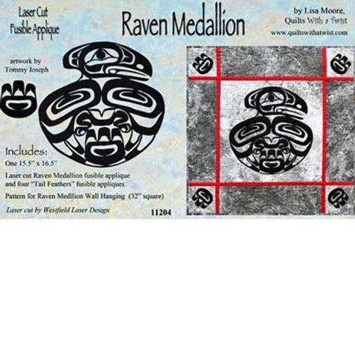 Raven Medallion