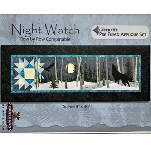 Night Watch Applique Set