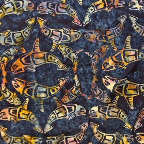 HF Batik Totemic Whales