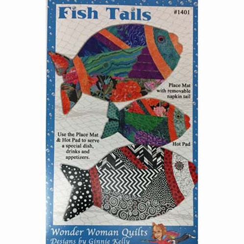 Fish Tail Place Mat Pattern