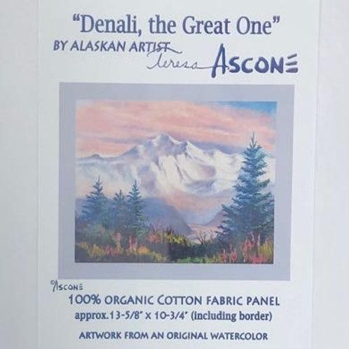 TA Denali, the Great One Fabric Panel