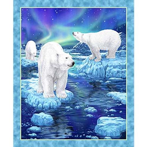 QT Polar Bear Panel