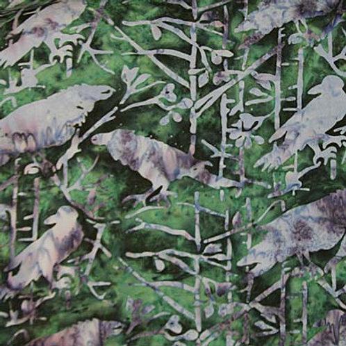 IB Batik Crowned Birds
