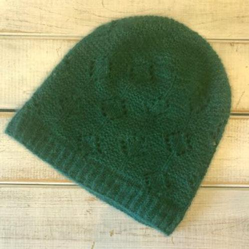 Green Qiviut Hat