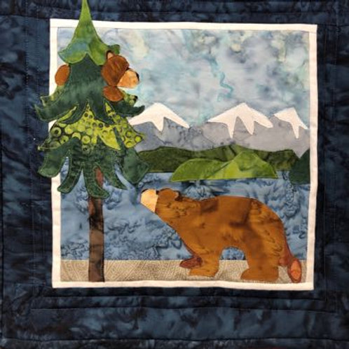 A Bear's Point of View Quilt Kit