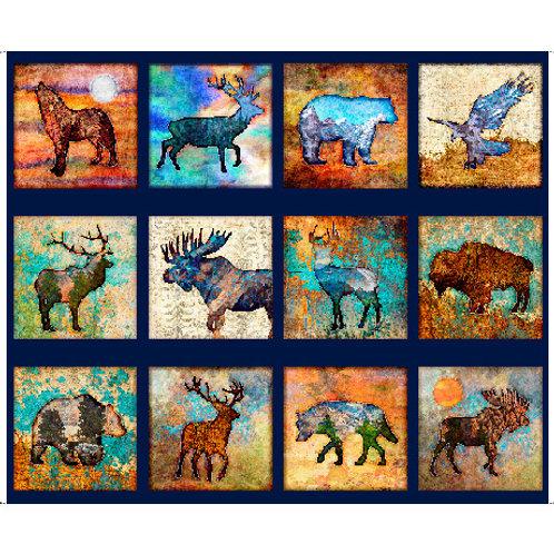 QT Animal Block Panel