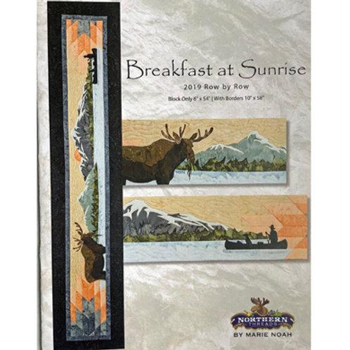 Breakfast at Sunrise Applique Set
