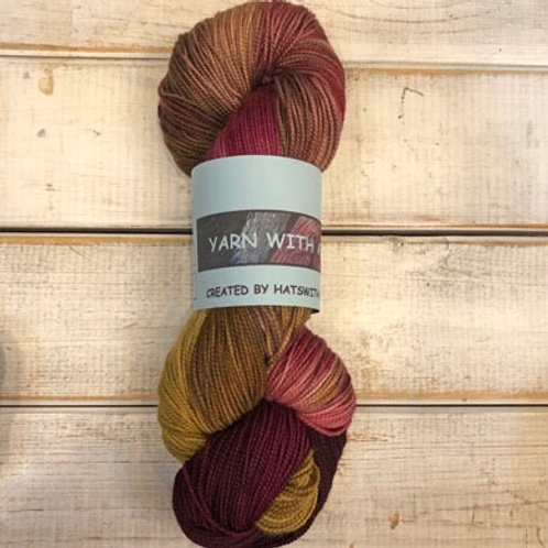 Yarn With Attitude-Rust/Brown