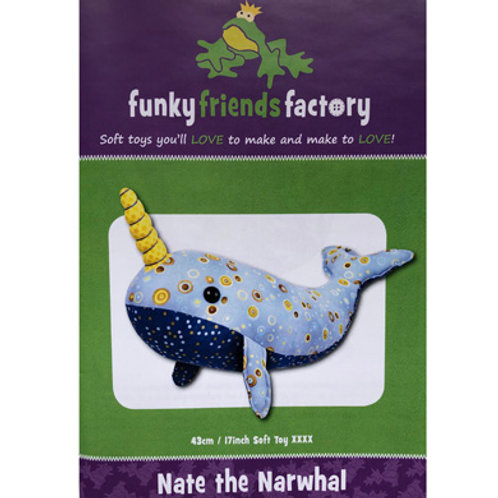 FF Nate the Narwhal Pattern