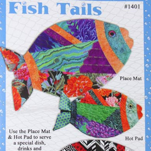 Fish Tails Placemats and Hot Pads Patterns