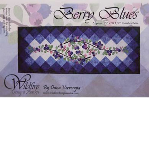 WF Berry Blues Table Runner Pattern