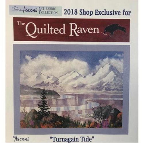 TA Turnagain Tide Fabric Panel