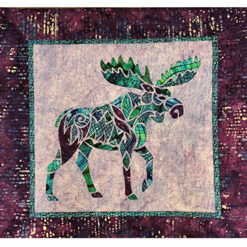 Alaska Mosaic Moose pattern