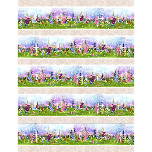 PB Garden Delight Border Print