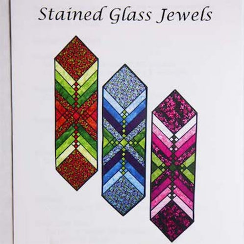 Stained Glass Jewels Table Runner Pattern