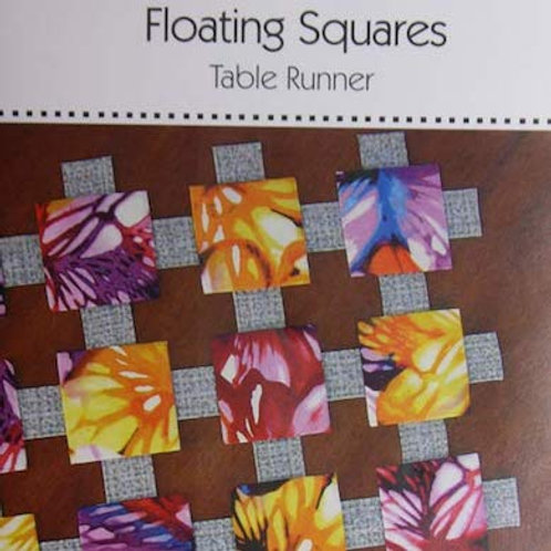 Floating Squares Table Runner Pattern