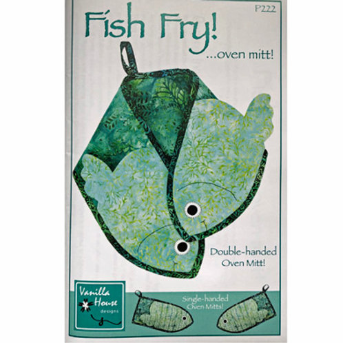 Fish Fry Oven Mitt Pattern