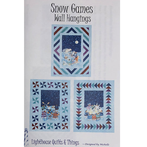 Snow Games Wall Hangings Pattern