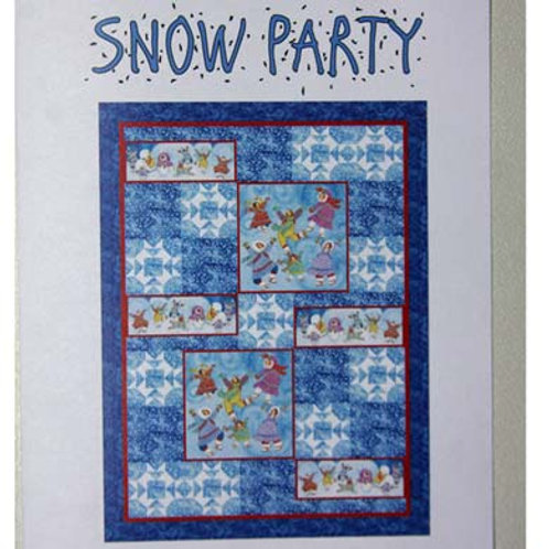 Snow Party Pattern