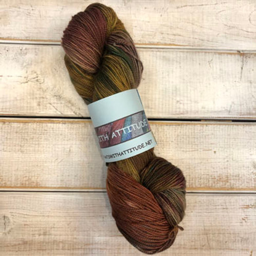 Yarn With Attitude-Rust/Green