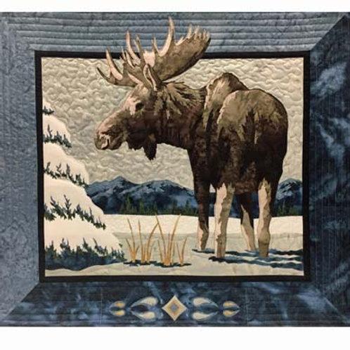 WF Moose 'n Spruce Quilt Pattern