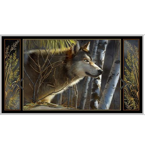 QT Majestic Wolf Panel