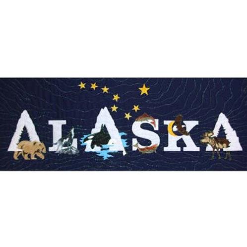 Alaska State Pride Laser-Cut Applique Kit #2