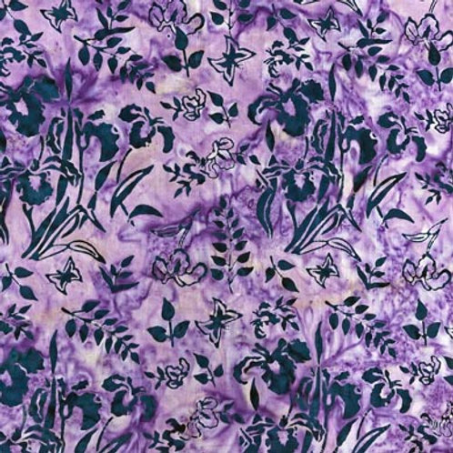RFA Batik Wildflowers