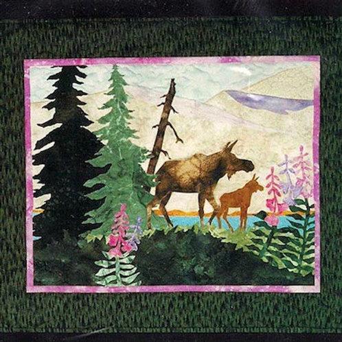 Summer Moose Pattern