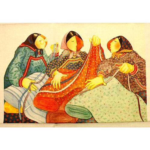 CT Eskimos and Calicos Art Panel