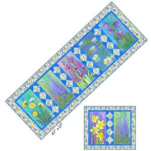 Paradise Blooms Table Runner Pattern