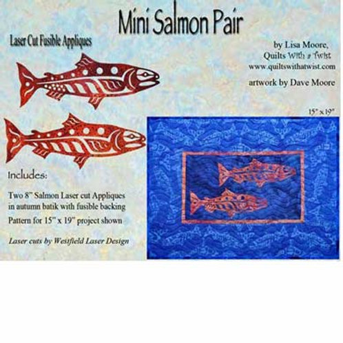 Mini Salmon Pair-Autumn