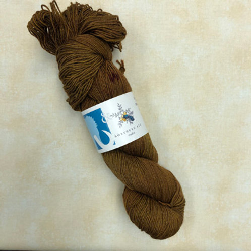 NB Yak Sock Yarn-Bourbon