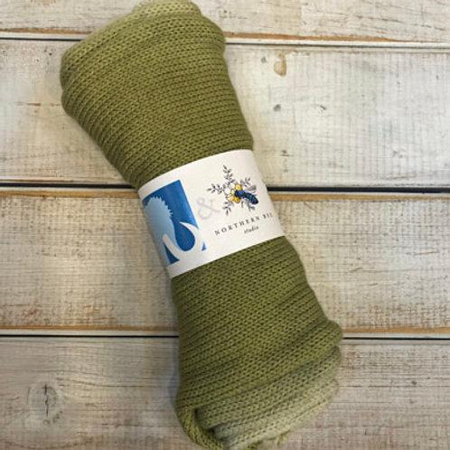 NB Sock Blanks-Asparagus