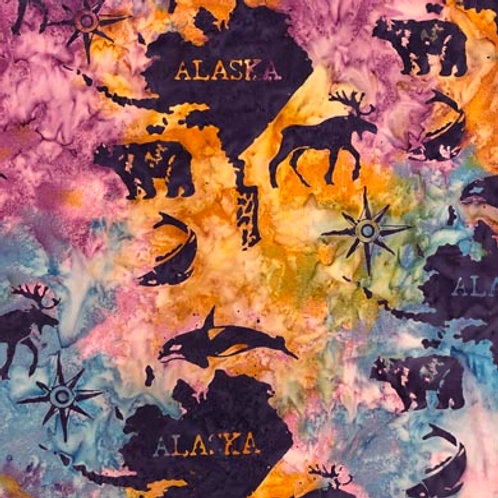 IB Batik Alaska Map