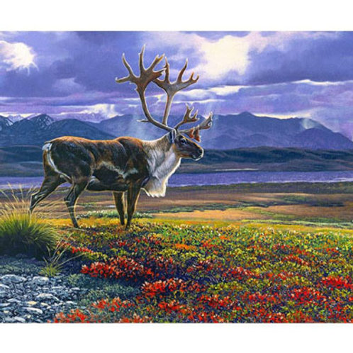 RB Autumn Glory Caribou Panel