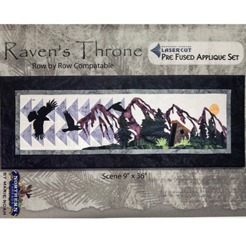 Raven's Throne Applique Set