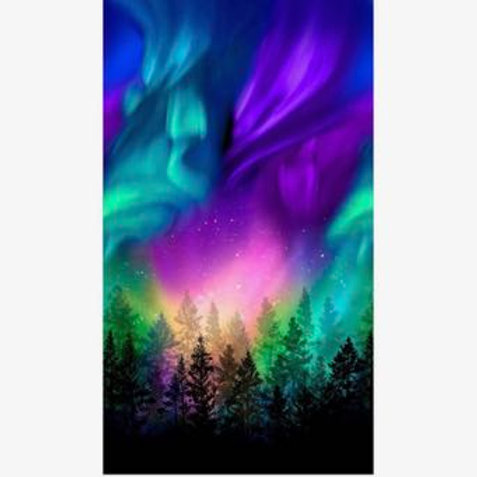 TT Northern Lights and Trees Panel