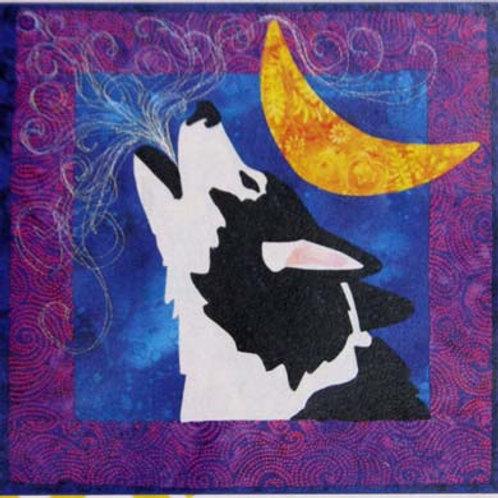 Happy Husky Howl Pattern