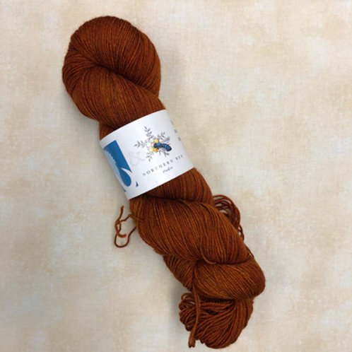 NB Yak Sock Yarn-Pumpkin