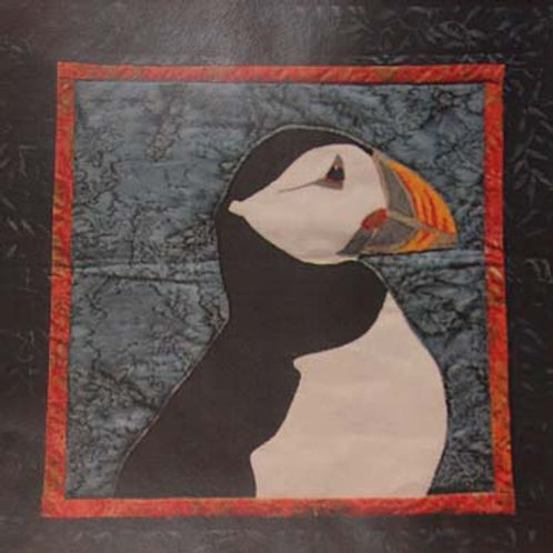 Horned Puffin Pattern