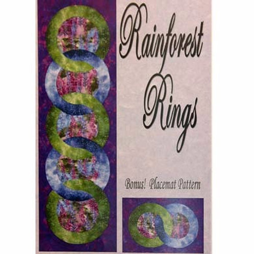 Rainforest Rings Table Runner Pattern