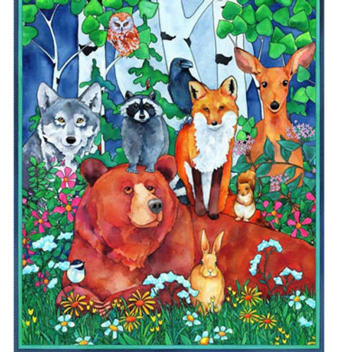BL Woodland Fantasy Panel
