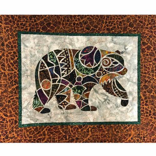 Alaska Mosaic Bear Pattern