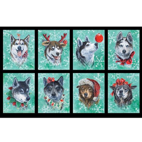 PB Santa's Siberians Panel