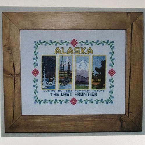 Chart-Alaska, The Last Frontier