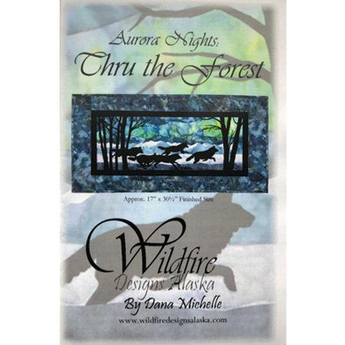 WF Aurora Nights:Thru the Forest Pattern