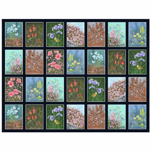 PB Alaska's National Parks Flower Panel
