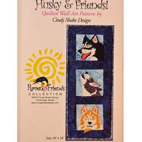 Husky & Friends Pattern